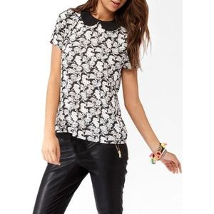 Hello Kitty x Forever 21 Peter Pan Collar Blouse
